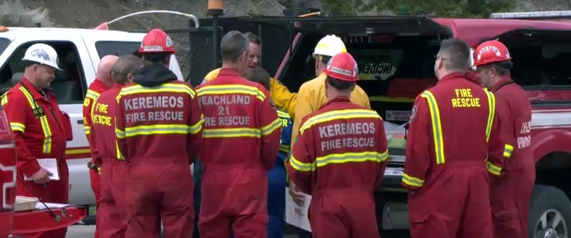 Firefighters Prepare Near Penticton for Summer Wildfire Season