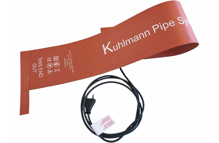 Kuhlmann Heating Blankets for Pipe Curing