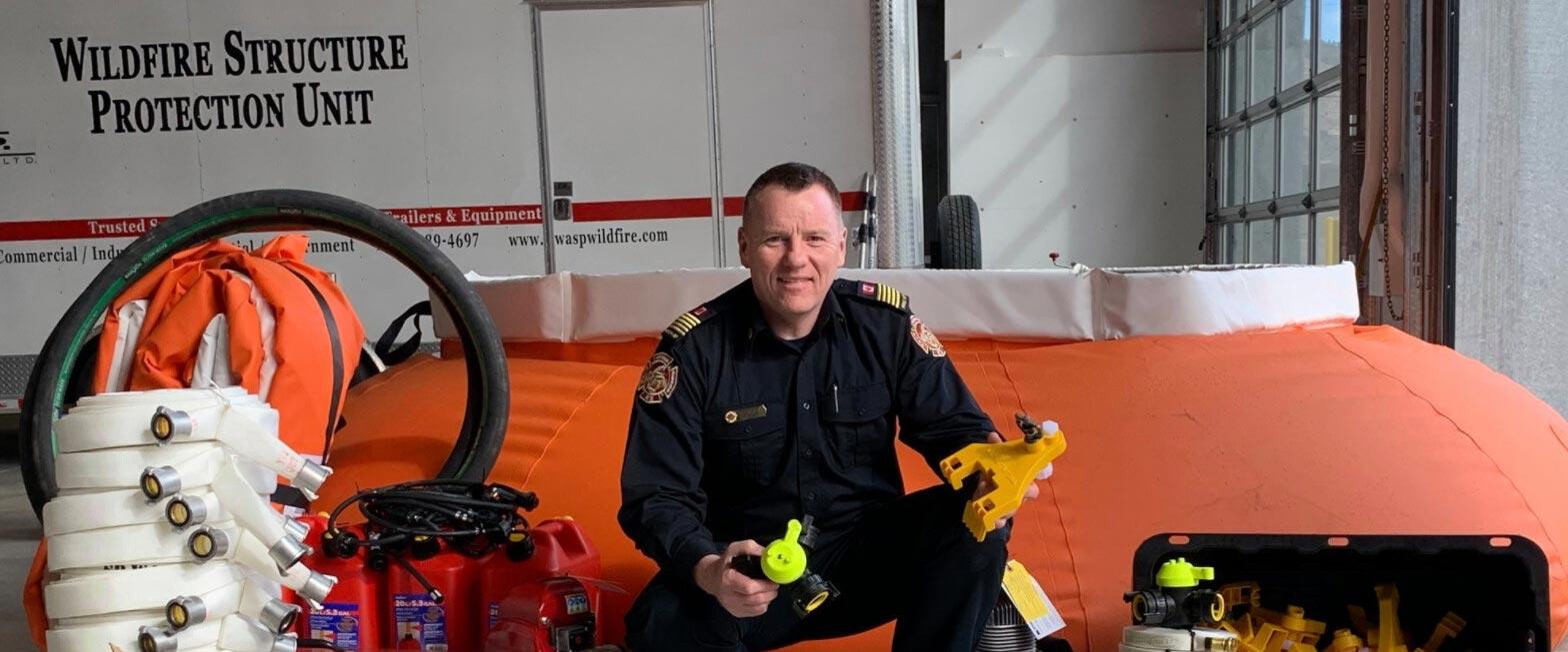 Fire Department Gets $25K