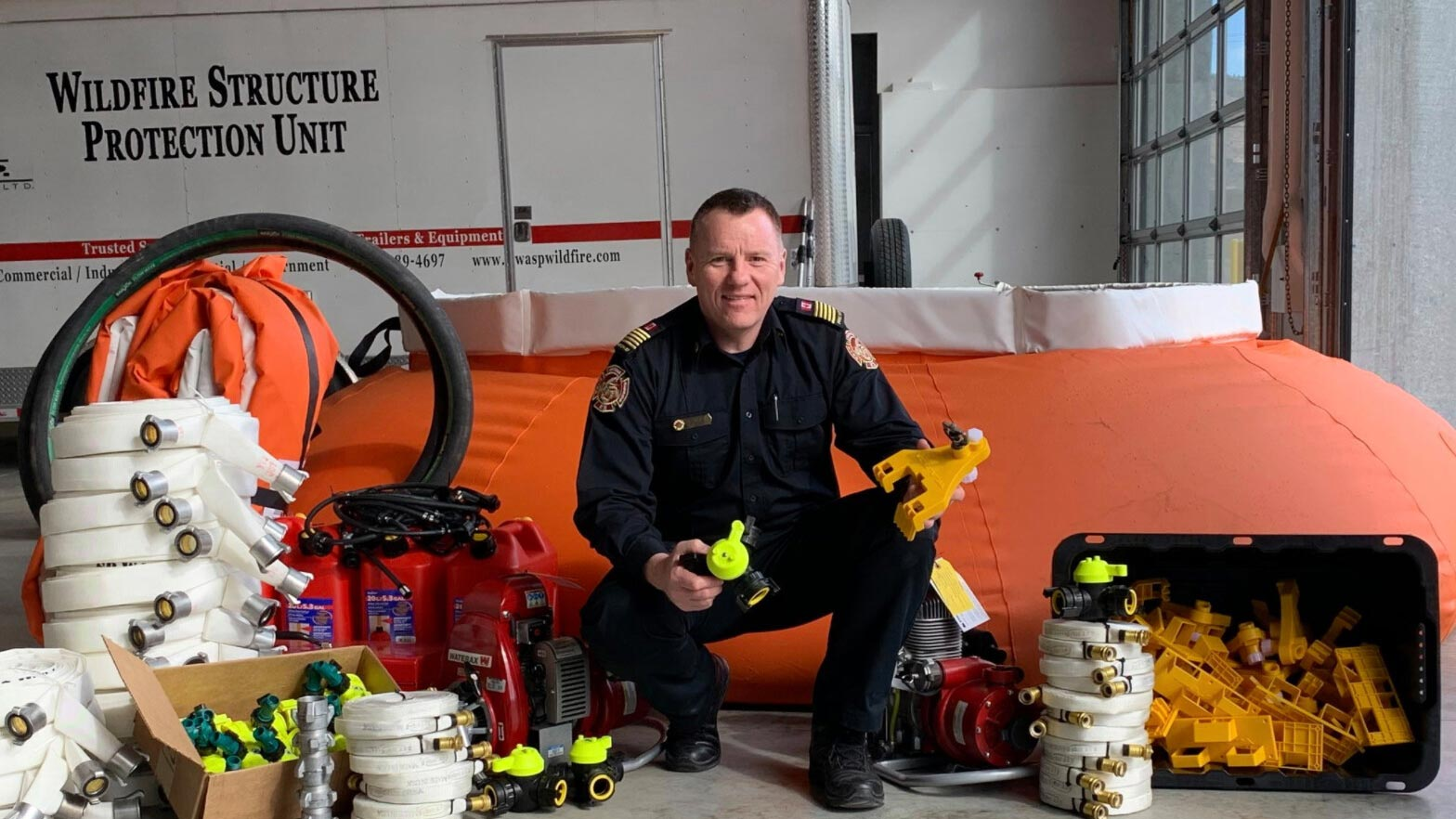 Osoyoos Fire Department gets $25K grant and access to new equipment.