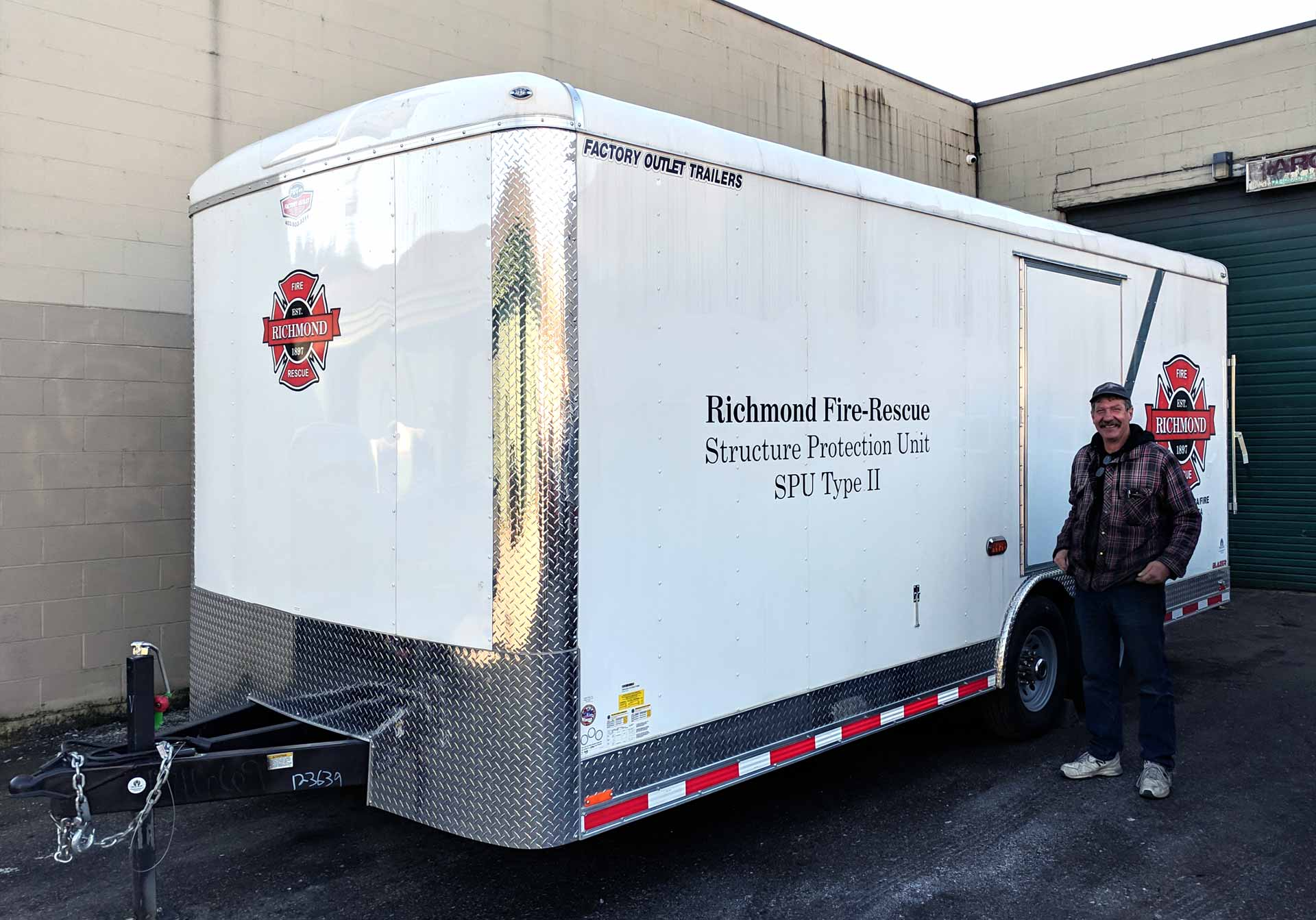 Richmond Fire-Rescues Adds a Structural Protection Unit